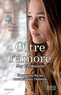 'Oltre l'amore' di Jay Crownover, noto come 'Rome', terzo romanzo della serie 'The Tattoo Series'. Recensione
