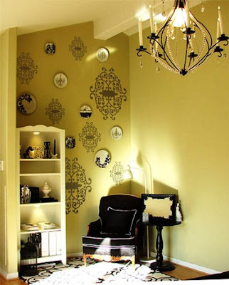 Environments Decoration for rest and relaxation at Home