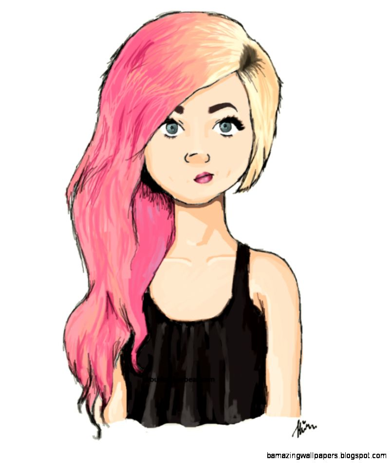 cute girly drawings tumblr - photo #8