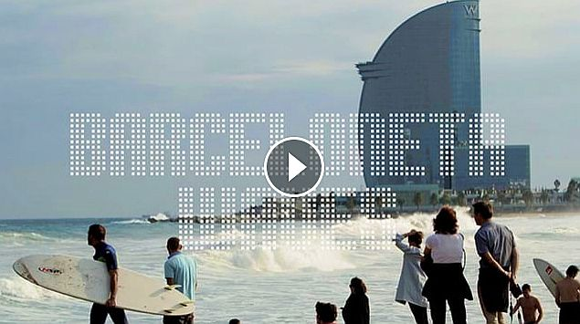 Barceloneta Waves