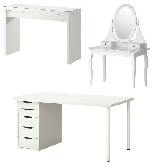 Fabylous organizacao de maquilhagem tips e onde comprar - Ikea mesa malm ...