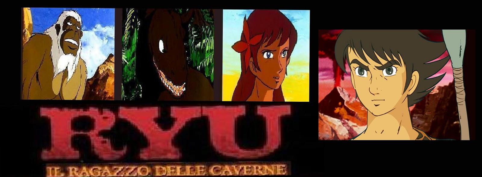 Dragoverde ryu il ragazzo delle caverne lotta contro il mostro