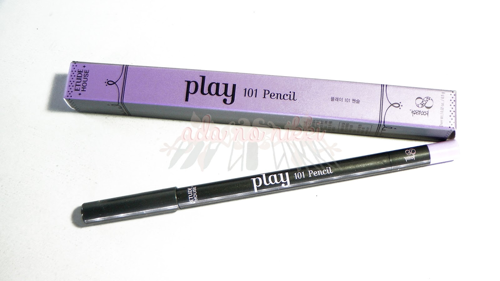 Etude House Play 101 Pencils 4 18 21 25 30 35 Review Tutorial