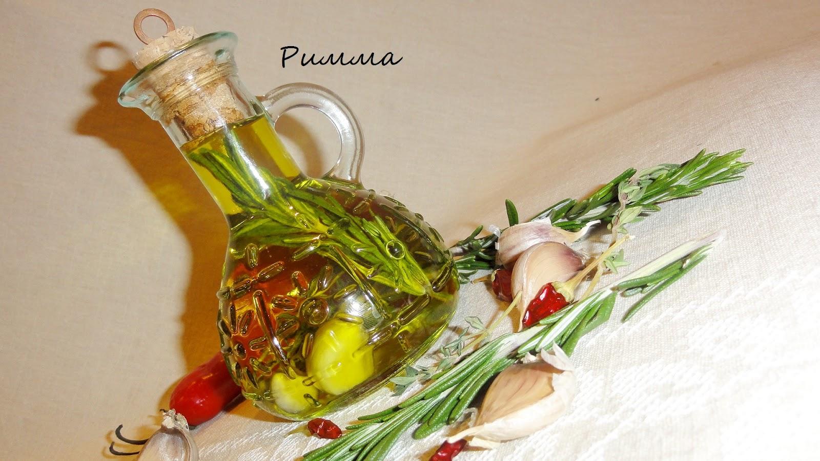Как сделать чесночное масло из оливкового масла