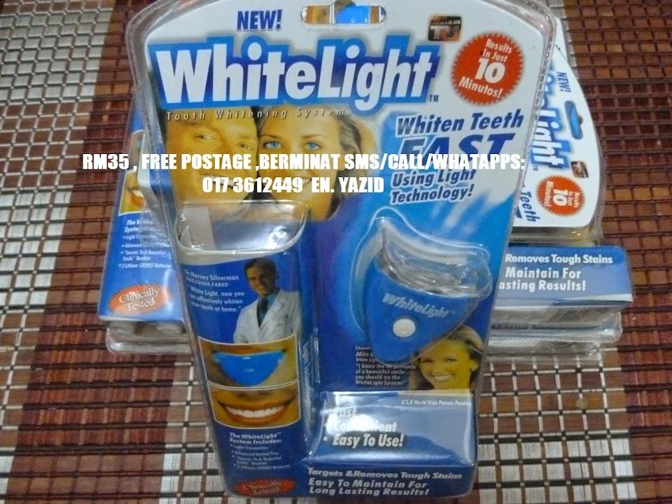 PEMUTIH GIGI WHITELIGHT RM35