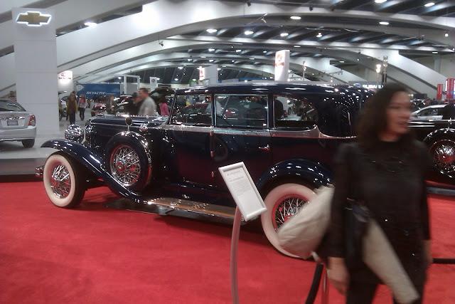 Duesenberg J, San Francisco Auto Show