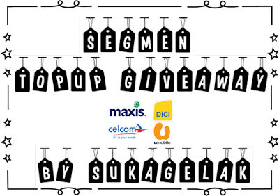 Segmen : Topup Giveaway by SukaGelak