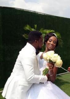 taiwo oyebanjo white wedding pictures