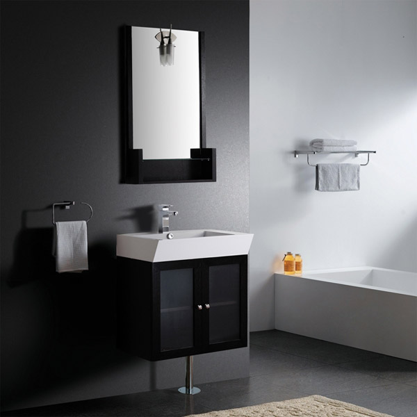 Original Brushed Stainless Finishing Are One Of Modern Bathroom Design Trends That Are Popular Interior Designers Showcase Their Creativity Developing Interesting And Beautiful Bathroom Vanities For Modern Homes Contemporary Bathroom