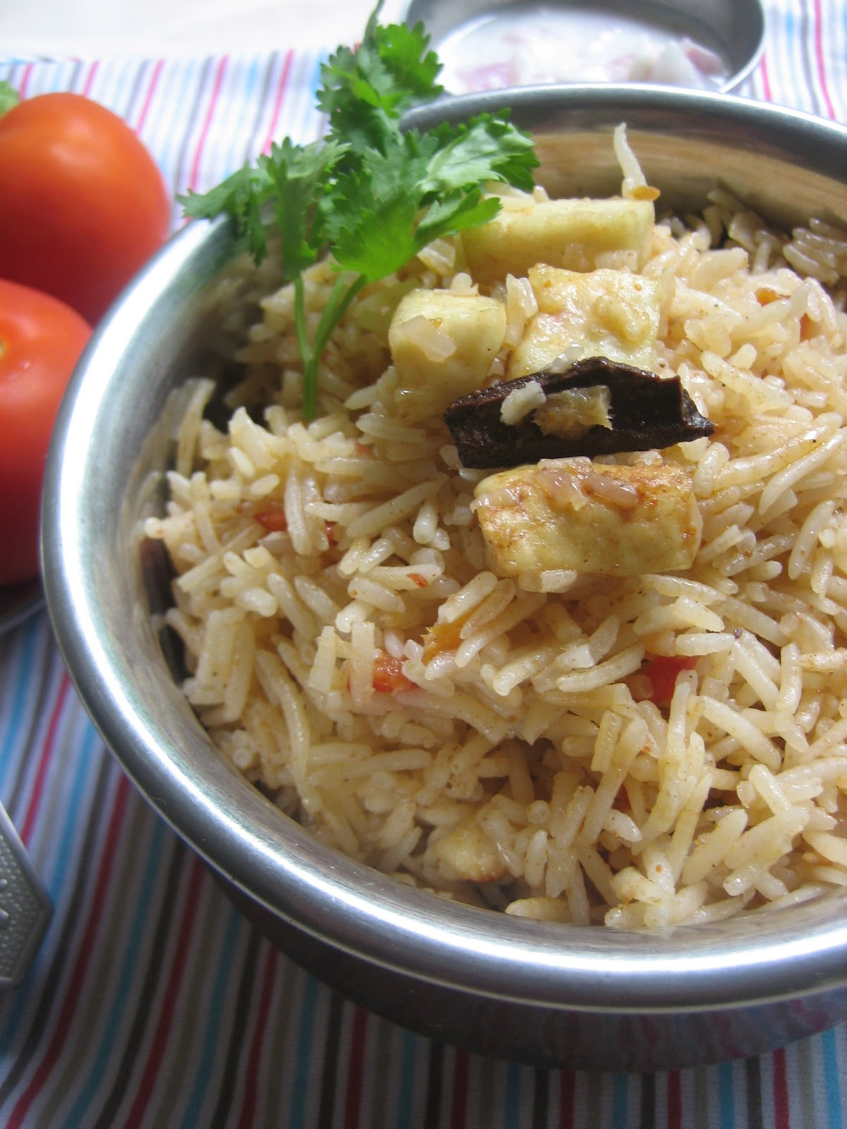 paneer cottage cheese fried rice