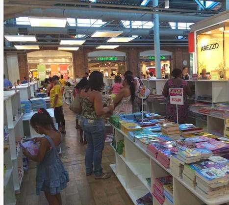 Feira de Livros 'Ciranda Cultural' no Bangu Shopping
