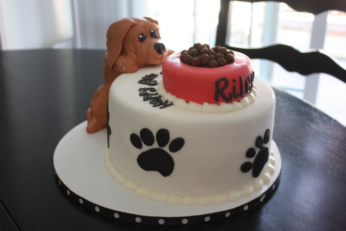 Puppy Birthday Cakes on Pinterest Puppy Cake, Puppy Dog ...