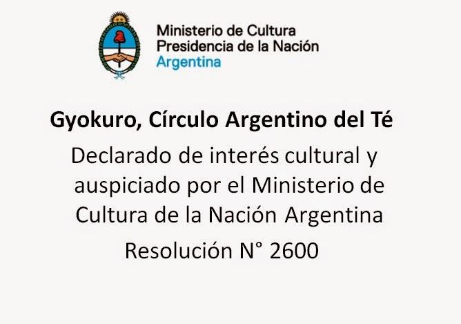 Gyokuro, Círculo Argentino del Té