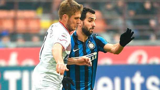 El Inter devuelve a Montoya y el Betis pregunta por él