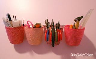 organizador de ferramentas  e materiais de artesanato