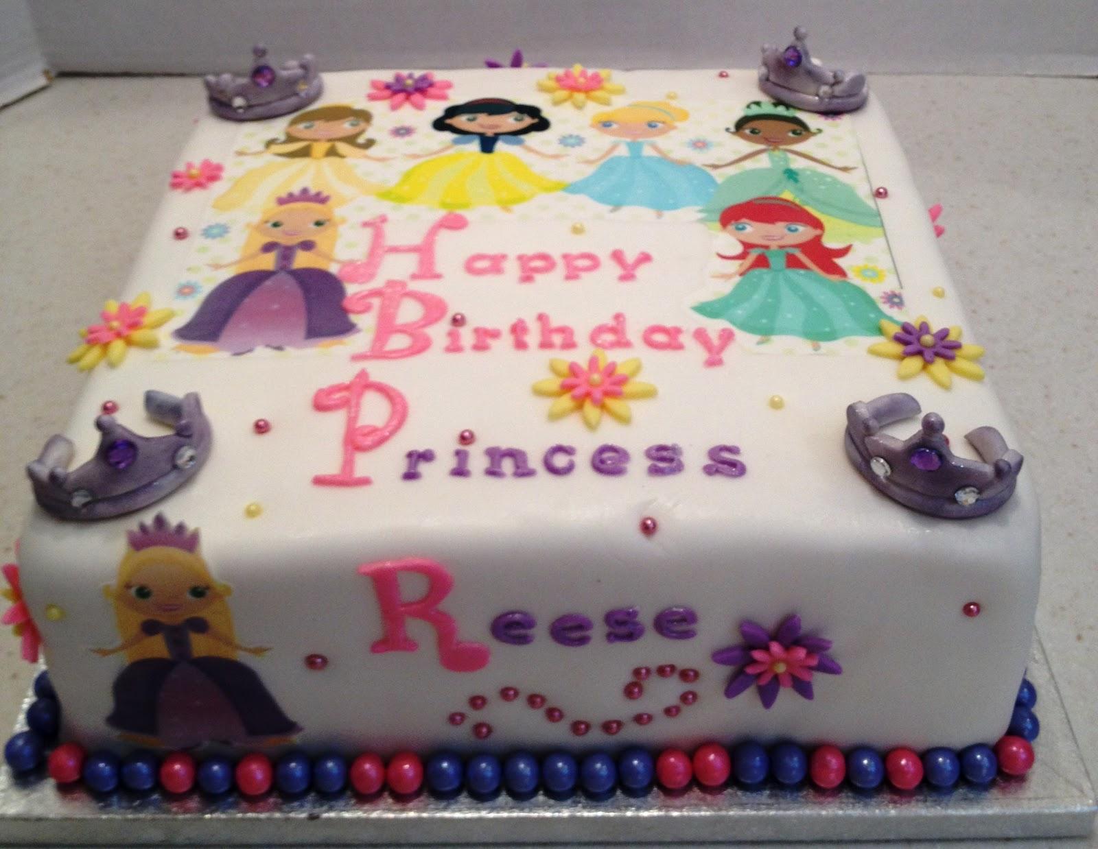 MaryMel Cakes Princess Reeses 5th Birthday