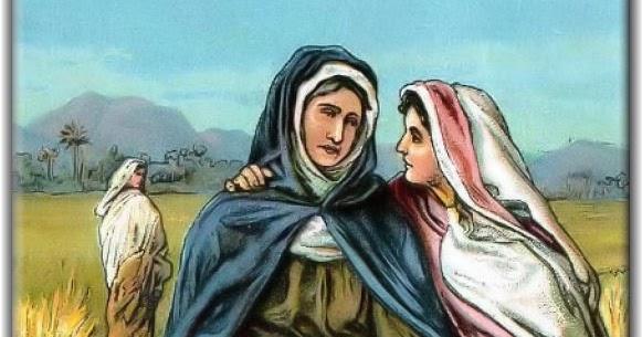 Vidas Santas: Santa Ruth, del Antiguo Testamento