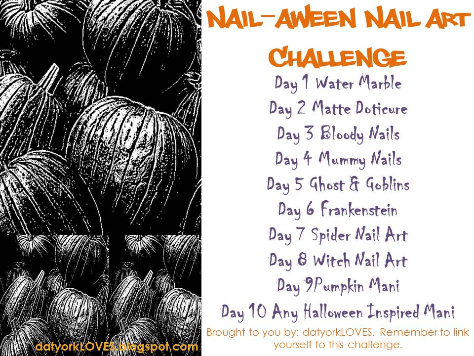 Halloween Nail Challenge 2