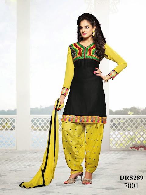 Indian Casual Wear Dress Material – Designer Dress Material