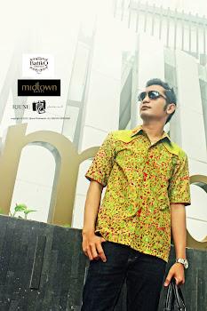 Urban Style (Batik motif daun)