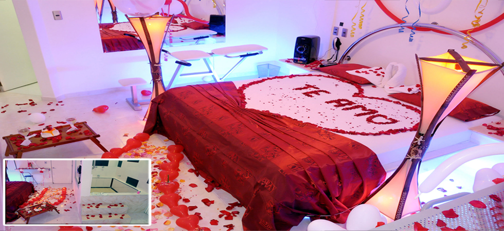 Habitaciones decoradas romanticas para parejas imagenes - Habitacion para pareja ...