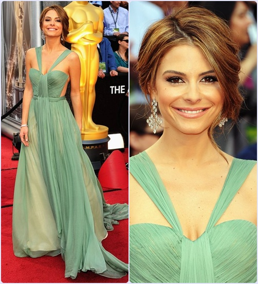 Look Maria Menounos Oscar 2012