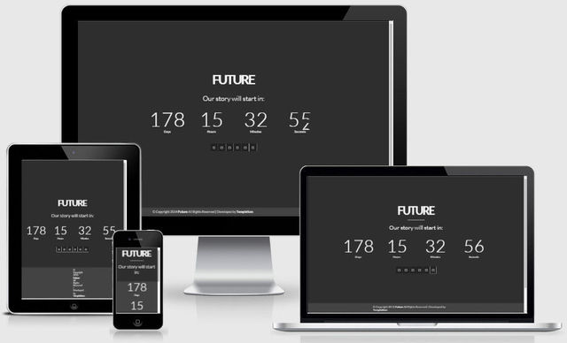 Future Full Screen Parallax Blogger Template - Wordpress Themes ...