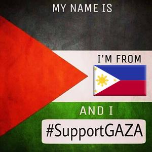 Tukar profile picture anda kepada Support Gaza