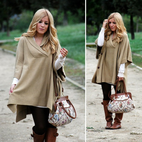 look dia frio de chuva bota poncho