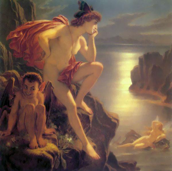joseph noel paton oberon mermaid