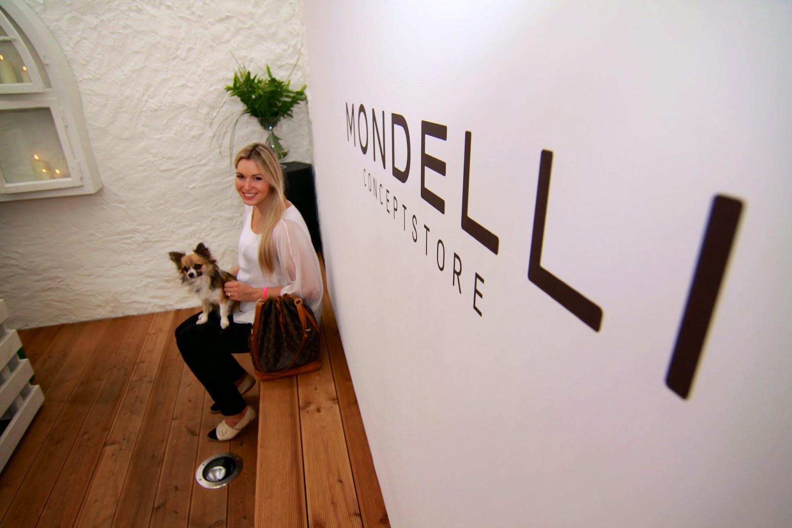 Pazi und Anton im Mondelli Concept Store Würzburg