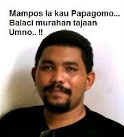 blogger Wan Muhammad Azri Wan Deris, pemilik portal Papagomo.