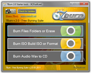 Free Download 7Burn Burning Tool Untuk Windows 7