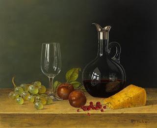 Bodegones Quesos y Uvas