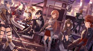 Gun Gale Online Kirito Asuna Silica Sword Art Online Anime HD Wallpaper Desktop PC Background 1942