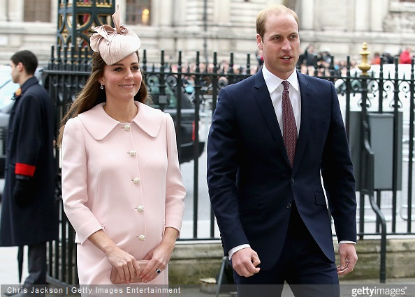 Catherine, Duchess of Cambridge and Prince William, Duke of Cambridge attend the Observance for Commonwealth Day Service At Westminster Abbey