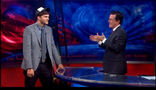 The Colbert Report gets Punk'd