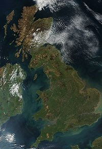 Map of Great Britain Geography