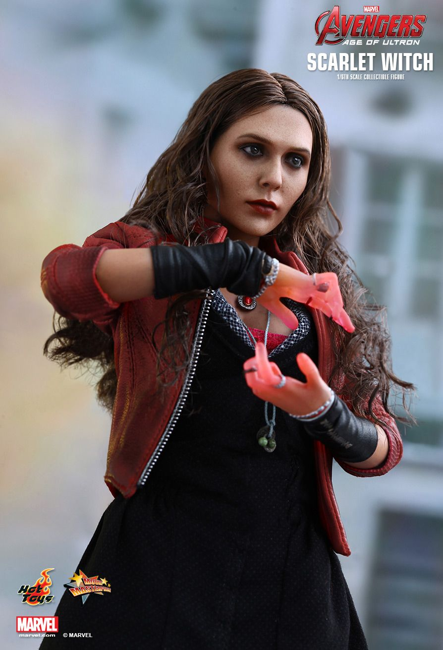 1//6 Scale Hot Toys  MMS301 Avengers Age of Ultron Scarlet Witch Ultron Heart