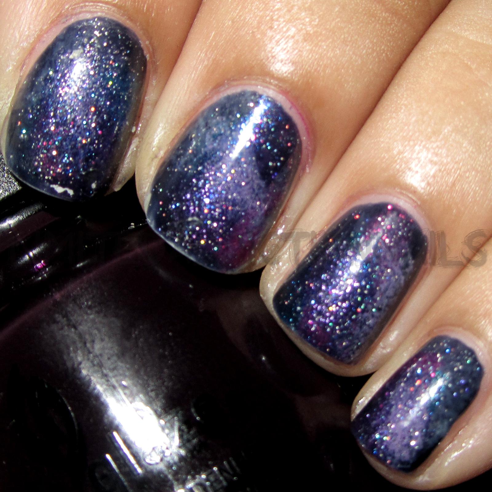 LimitedAddictionNails: Galaxy Nails!