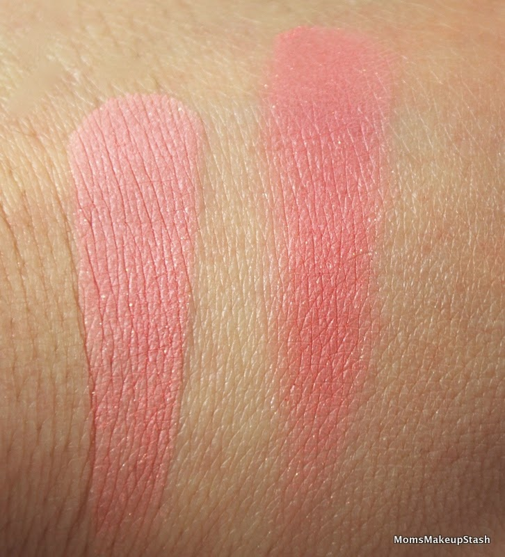 Hourglass Ambient Lighting Blush In U201cDiffused Heatu201d The Swatch On The Left  Is The Result Of Swirling My Finger Across The Entire Product.