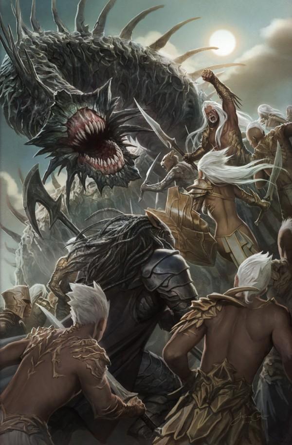 Ilustraciones de juegos, Jason Chan