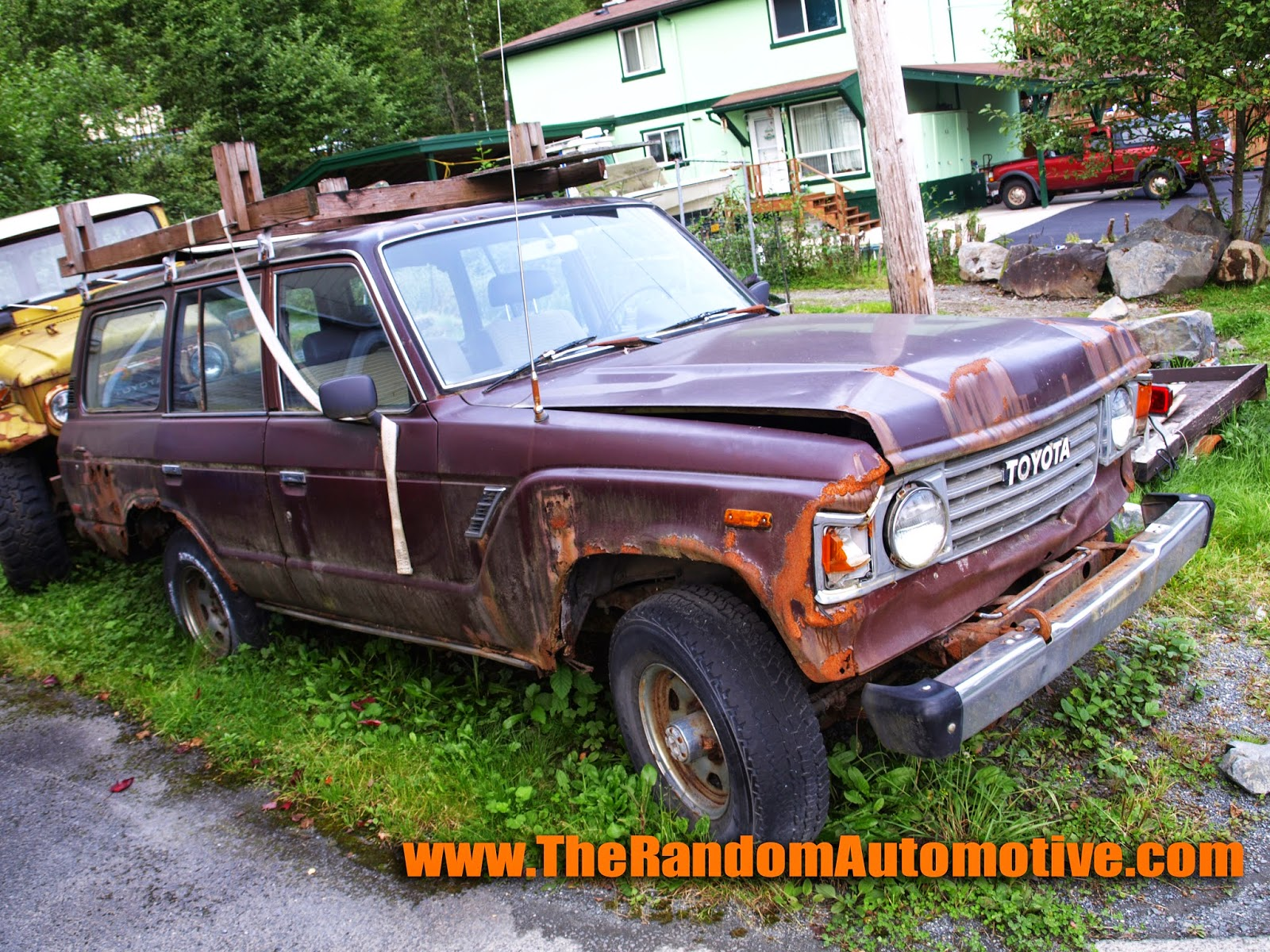 1980s toyota land cruiser abandoned alaska rust