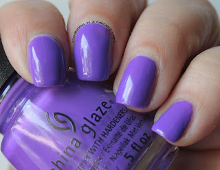 China Glaze Electric Nights Plur-ple