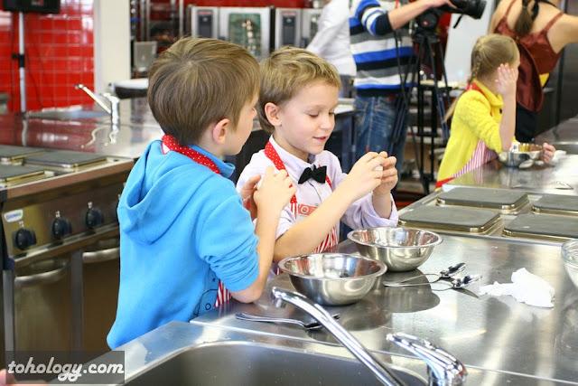 Детский кулинарный класс в swissam