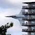 Η ΦΩΤΟΓΡΑΦΙΑ του ελληνικού F-16 που «διαπερνά» το γερμανικό προξενείο στη Θεσσαλονίκη!