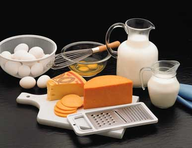 Dairy foods for healthy diet