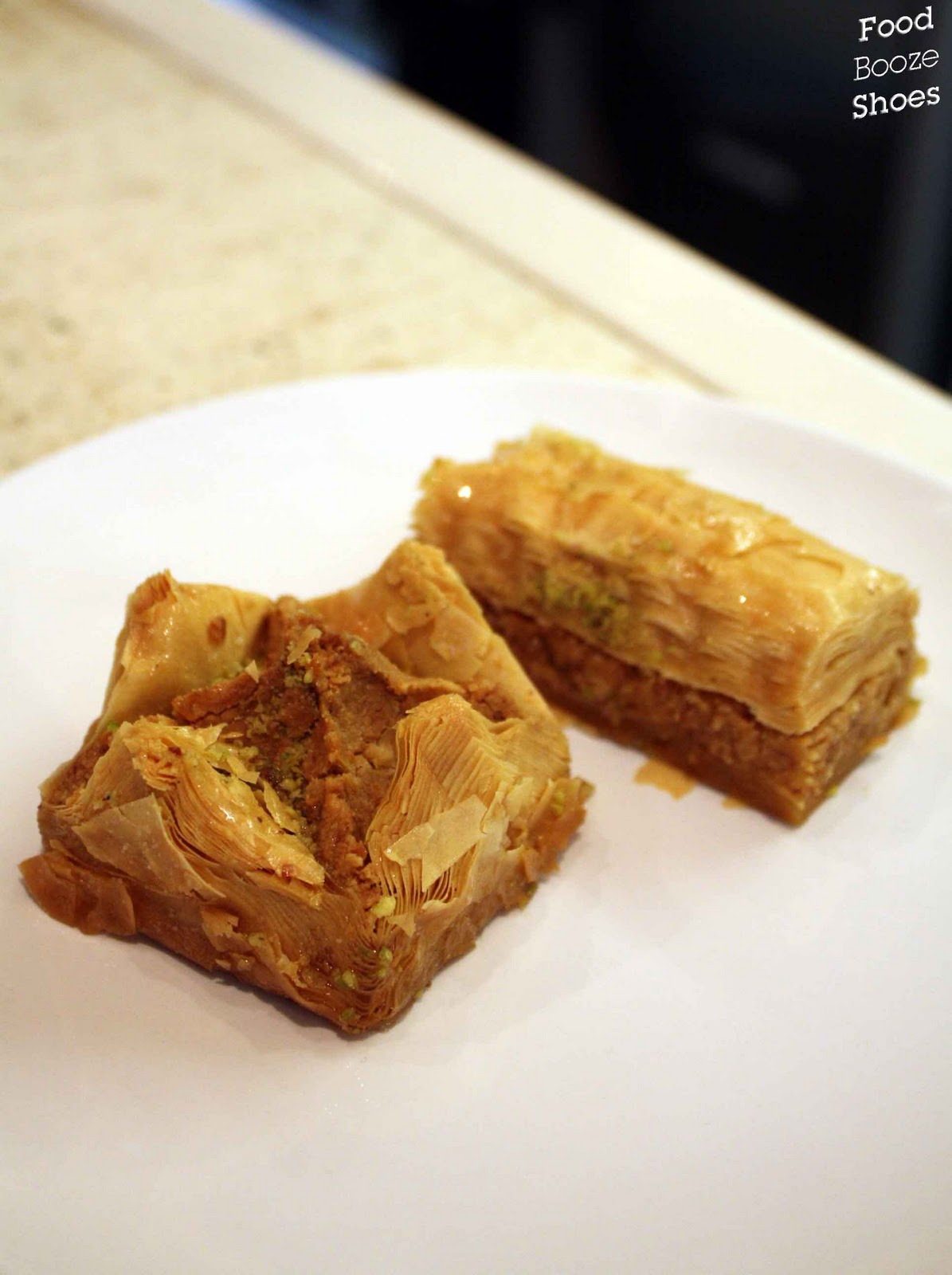 how to make different shaped baklava