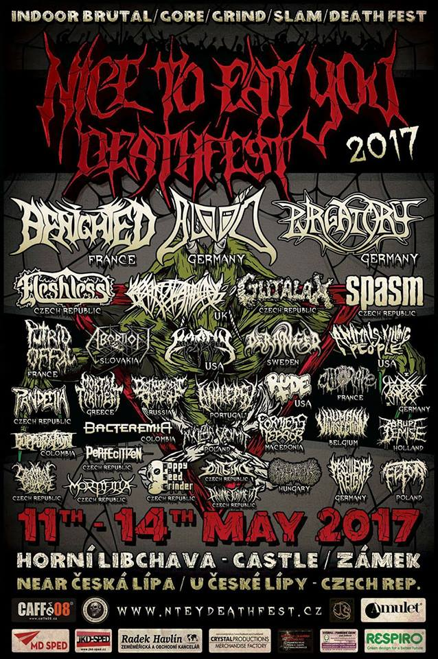 NICE TO EAT YOU DEATHFEST 2017