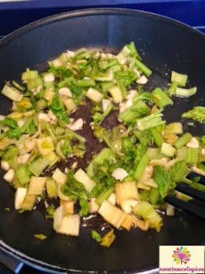 sofrito verduras para alubias